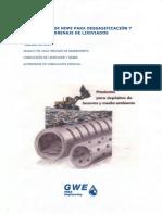 Pesa Engineering Tuberias de Hdpe Tuberia de Hdpe Para La Desgasificacion y El Drenaje de Lixiviados en Vertederos 667803