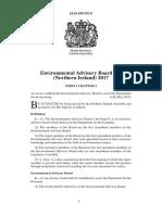 Environmental Advisory Board Act (Northern Ireland) 2017