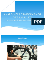 Análisis de Los Mecanismos de Tu Bicicleta