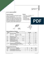 Mosfet Fqp30n06 60v - 30a