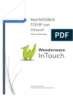 Procedimiento ModbusTCP Intouch SMC