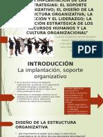 Estrategias en Organizacion de Empresas