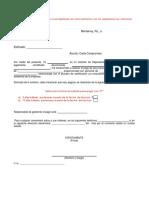 Ejemplo Redaccion Carta Compromiso de Pago