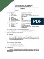 1. SILABO Proyectos de Inversion 2017-I ADRR