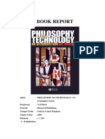 Filsafat Pendidikan - BOOK REPORT - Philosophy of Technology - IsI