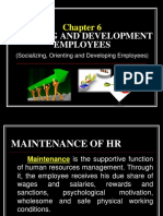 CHAPTER 6 Training and Development Employees