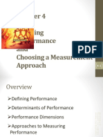 4. Defining Performance and Choosing a Measurement Approach (1)