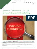 Las 4 Bases Fundamentales Del Inbound Marketing