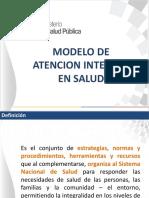 Modelo de Atención Integral en Salud