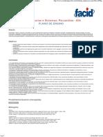 Plano de Ensino - 5PSIC - Teorias e Sistemas_ Psicanálise
