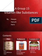 ILA Group 15 PABA, Bioflavonoids & CoQ
