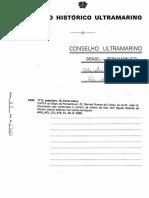 CARTA Do Bispo de Pernambuco, [D. Manoel Álvares Da Costa], Ao Rei [D João VI Informando Que Continuava a Cumprir as Ordens de Ficar Cem Léguas Distante DeOlinda,