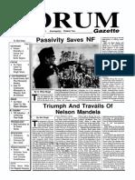 The Forum Gazette Vol. 5 No. 4 February 28, 1990