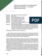 Minick_1996_Instrucciones de La Maestra La Construcción Social de «Significados Literales» y « Mundos Reales» en El Discurso Del Aula