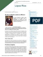 Bernardo López Ríos_ El Mito de Benito Juárez en México