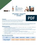 Curso Tecnicas y Aplicaciones de Tejido a Crochet PDF