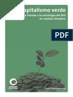 capitalismo verde una mirada a la estrategia del BID en cambio climático