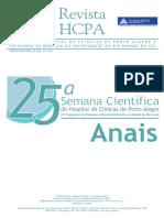 ANAIS - Hospital Das Clíicas de Porto Alegre