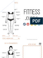 Fitness Food Journal by Studyreadwrite