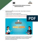 Manual Usuario Administrador - Aplicativo de Evaluación Offline_02.06.2017