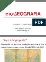 biogeografia aula
