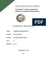 Evaporación y Cristalización-paz Ruiz-ok