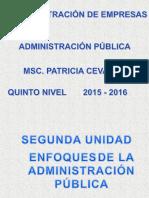 Administración Publica II Unid.