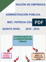 Administración Publica i Unid
