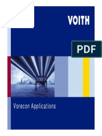 Vorecon Applications
