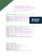 Programas Para Cálculo de Concentración de Contaminantes en MatLAB
