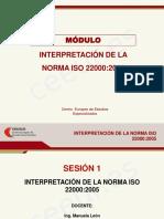 ISO 22000 - Diapositivas 1