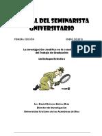 Manual Del Seminarista e Investigacion