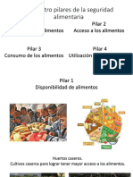 Los Cuatro Pilares de La Seguridad Alimentaria