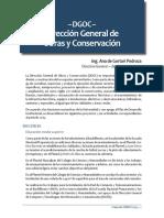 – DGOC – Dirección General de Obras y Conservación