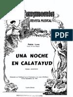 Una Noche en Calatayud-guion
