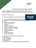 Requisitos Para Elaborar Documentos
