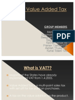 VAT – Value Added Tax