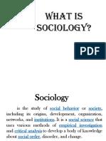 Sociology (1)