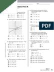 Holt Algebra 1_Chapter 05_Standardized Test
