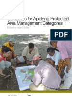 Guidelines for Applying PA Management Categories