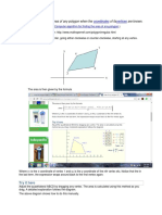 A Method for Finding the Area of Any Polygon