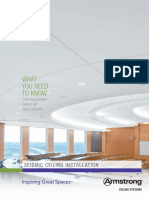 Seismic Design What You Need to Know Brochure