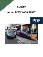 Konsep Mobil Bertenaga Roket
