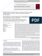 Implementation of a Brief Treatment Counseling Toolkit in Federally
