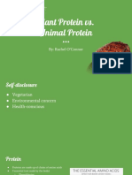 plant protein and animal protein  1