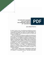 Jean Claude Passeron - La teoría de la reproducción social.pdf