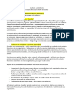 Auditoría administrativa Unidad 1 Actividad 2. Perfil del Auditor