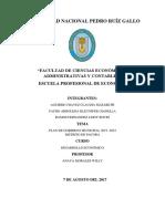 Plan de Gobierno Pacora