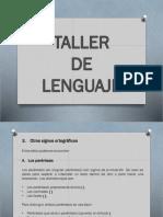 Taller de Lenguaje Signos