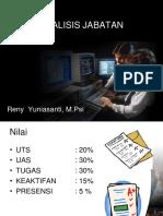 Pengantar Analisis Jabatan